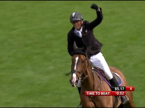 Trevor Breen on the Equestrian.com Derby at Hickstead