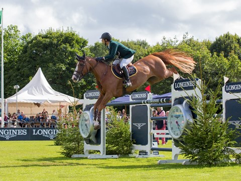 Longines King George V Gold Cup 2017 winning round